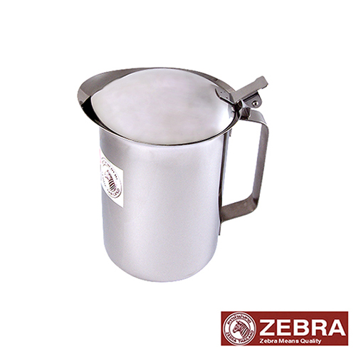 【Zebra 斑馬】 #304不鏽鋼掀蓋式冷水壺 1.5公升