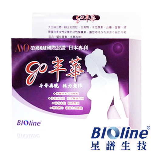 【BIOline星譜生技】go丰華-豐富女性營養素(60錠/盒)
