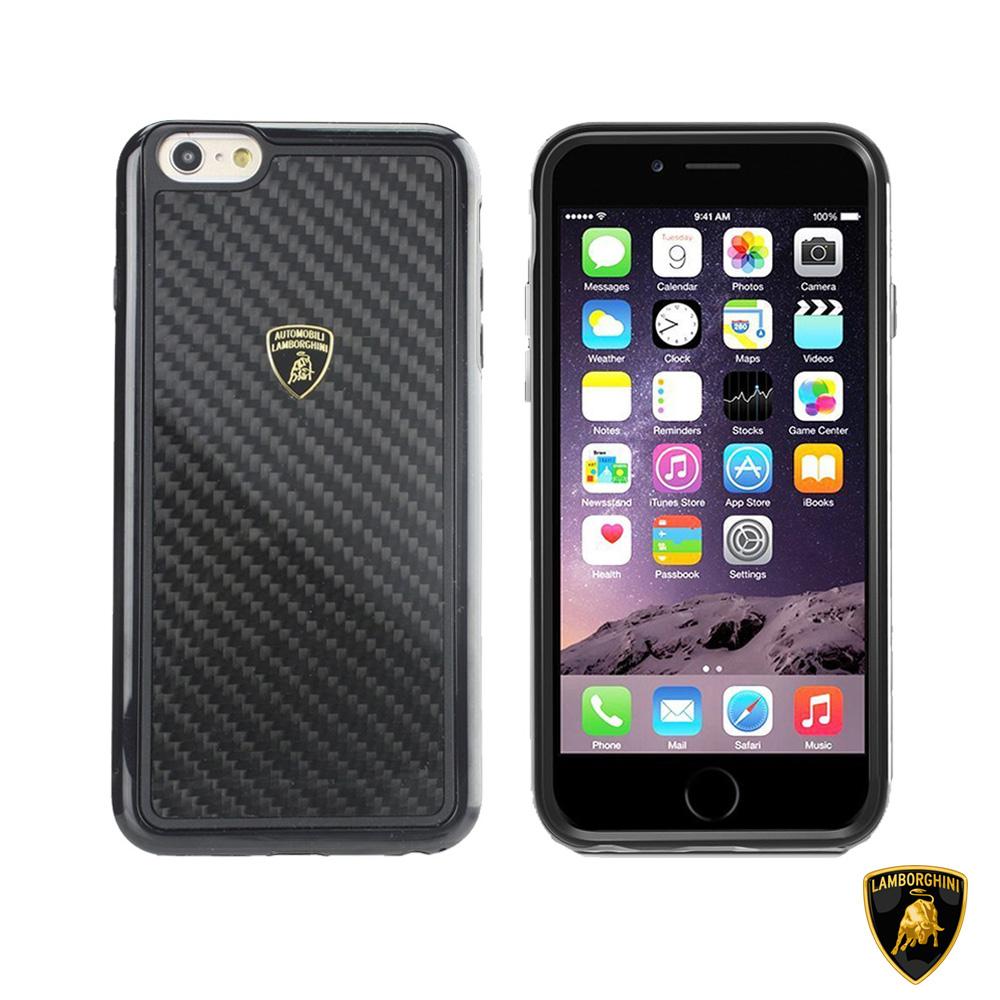 藍寶堅尼 Lamborghini iPhone 6/6s Plus(E-D2)碳纖維保護殼