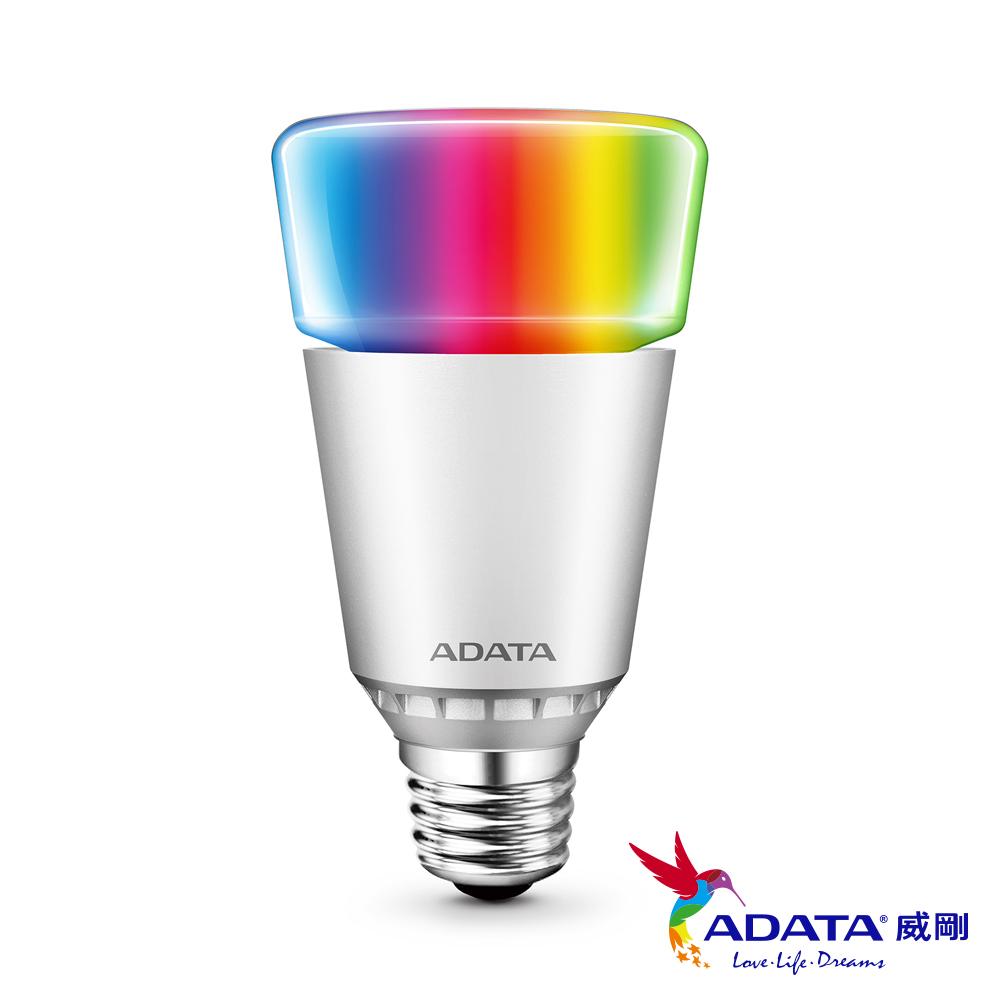 威剛ADATA威剛ADATA LED 7W 智慧型 RGB 藍芽 調光調色燈泡 1入RGB調光調色