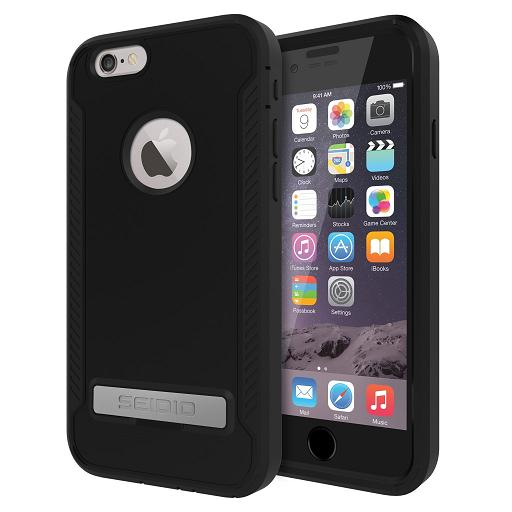 SEIDIO INTEGO? 防潑水保護殼 for Apple iPhone 6 Plus/6s Plus 黑