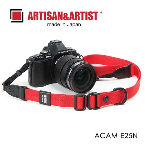 日本 ARTISAN&ARTIST 快調帆布背帶 ACAM-E25N-黑 (AA)黑色