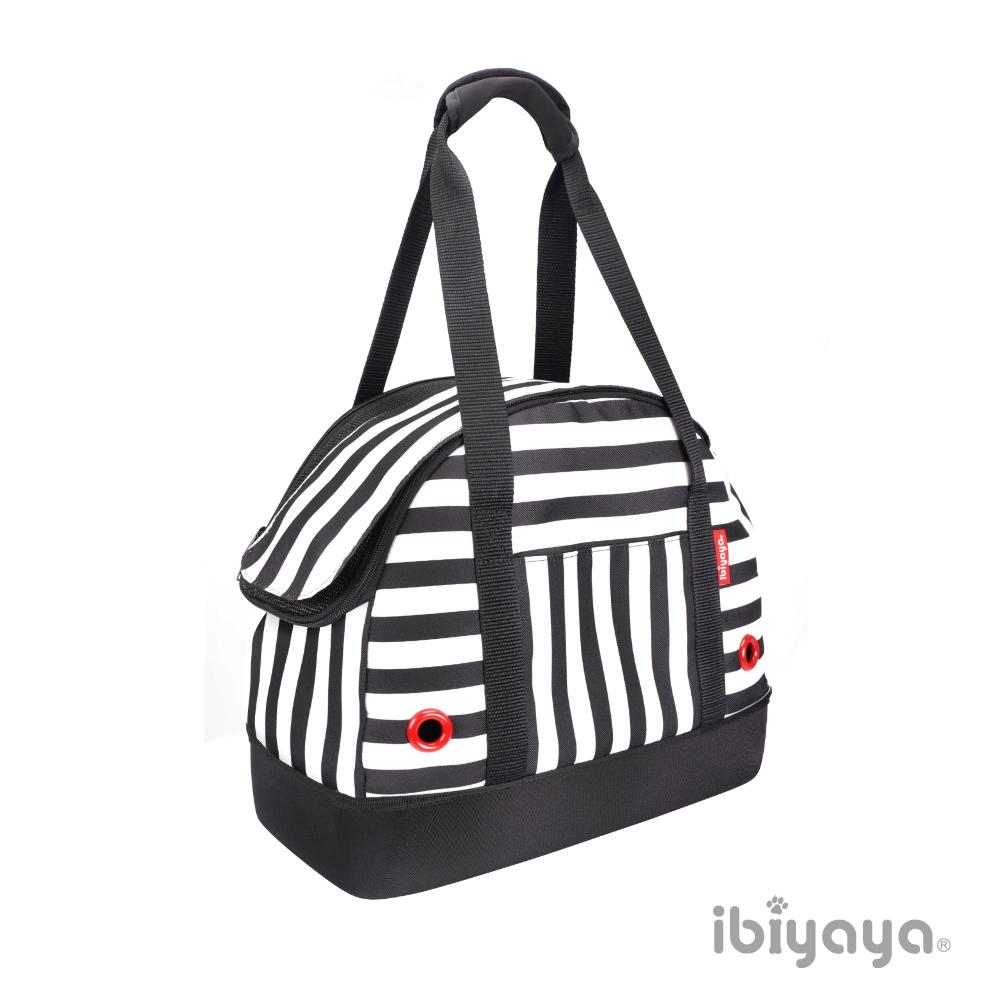 【IBIYAYA依比呀呀】FC1580壓馬路寵物保齡球包黑白條紋