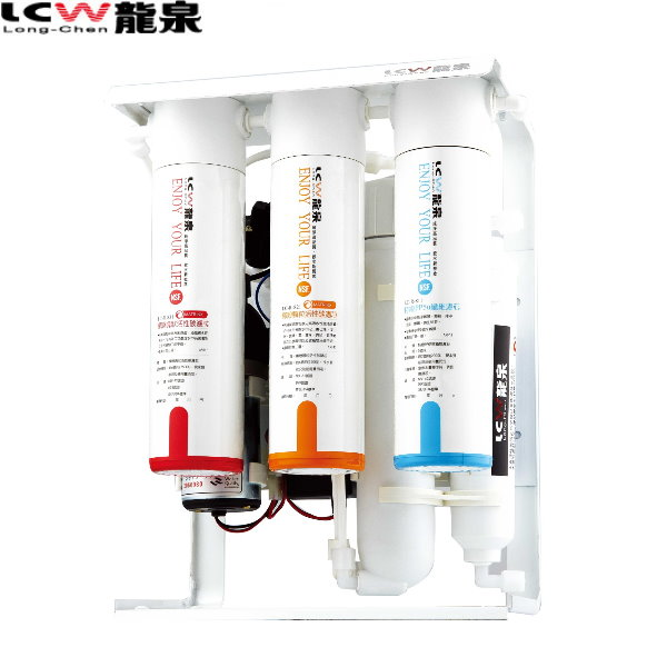 【LCW 龍泉】彩鋼架殺菌型逆滲透純水機 (LC-R-108)