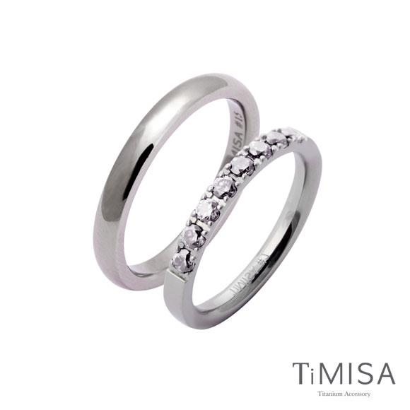 蜜糖 彩鑽 單純 純鈦 戒指 對戒 訂情