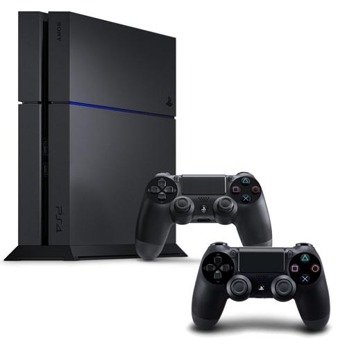 SONY PS4主機 CUH-1207BB01系列1TB - 極致黑+限量手把+一年保固卡-專極致黑
