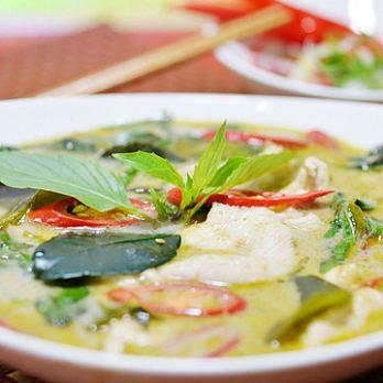 【泰凱食堂】綠咖哩椰汁雞