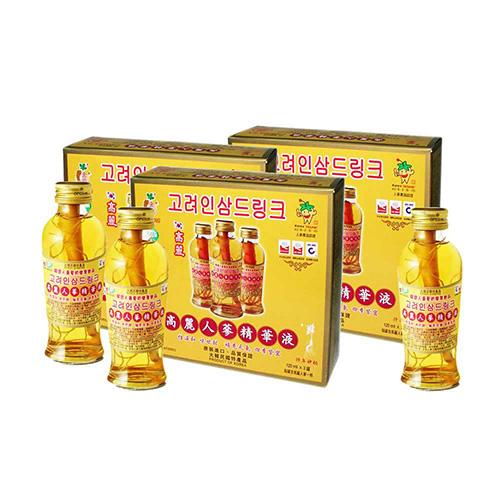 金蔘 高麗人蔘精華液-全素 (3入/盒,共2盒)