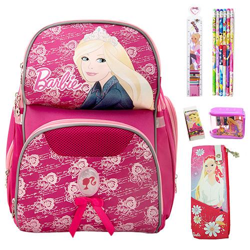 芭比Barbie 好樂背雙肩書包文具組