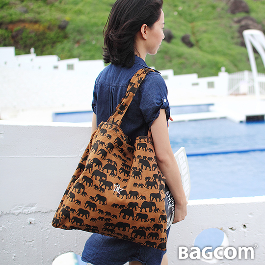 Bagcom Masaki B~Tote 雙層 包~動物駝