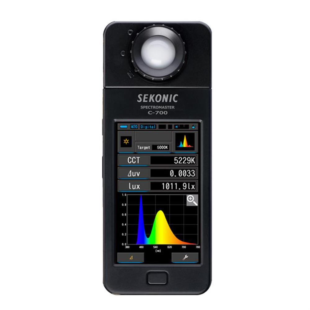 SEKONIC C-700 數位色溫表/光譜儀(公司貨)