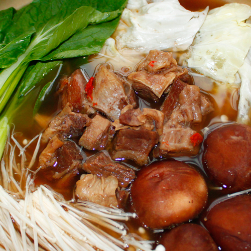 【那魯灣】養生牛肉(牛腩)鍋 1盒(1.2kg/內含肉300g/盒)