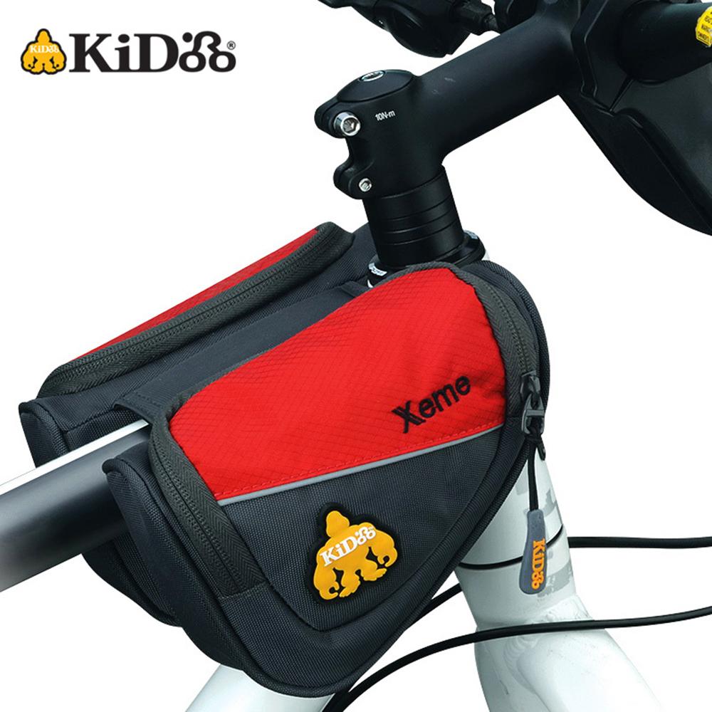 【KiDooo騎多】Xeme 單車上管包紅