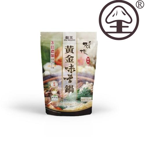 【KAWA巧活】菇王 黃金味噌鍋(湯底)