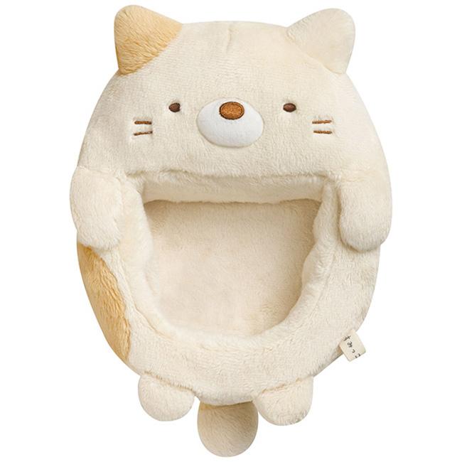 San-X 角落公仔角落圖鑑系列毛絨公仔置物盒。羞羞貓