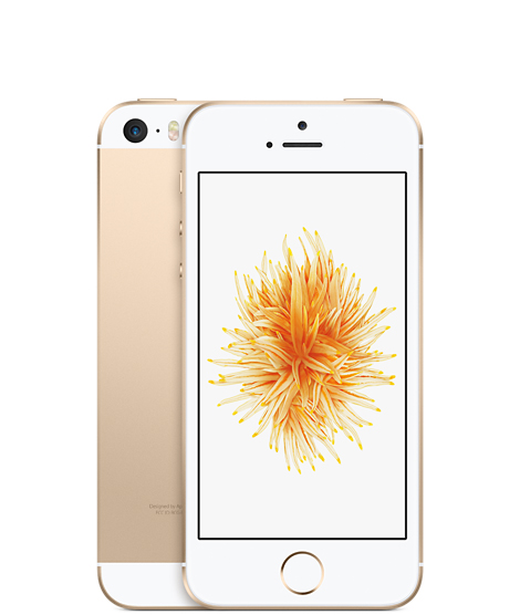 Apple iPhone SE 智慧型手機 台灣原廠公司貨 16G金色
