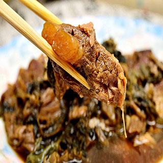 【好神】個人獨享包香味四溢Q嫩軟骨肉8包組(紅燒口味+梅干口味各4包)