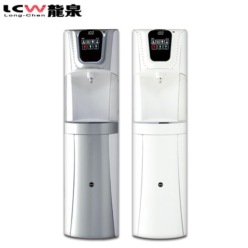 【LCW 龍泉】落地型冰溫熱水鑽飲水機 ( LC-7572-1AB / LC-7572-2AB)雪晶白