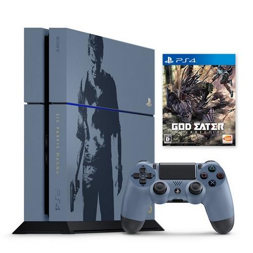 PS4 秘境探險4 盜賊末路-主機同捆組+噬神者 解放重生