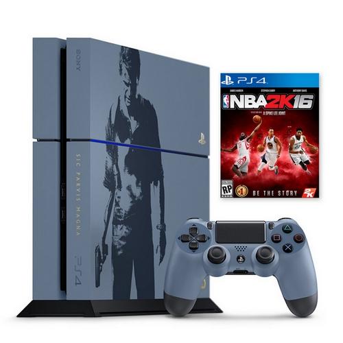 PS4 秘境探險4 盜賊末路-主機同捆組+NBA 2K16