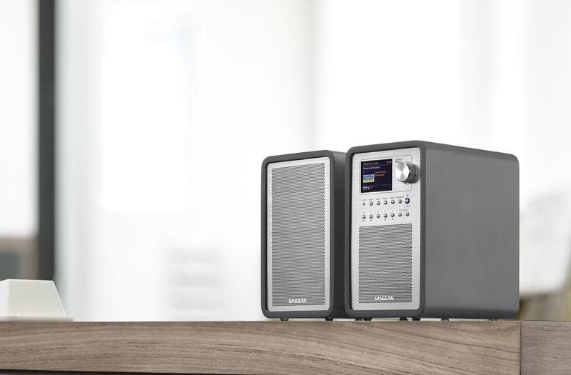 SANGEAN山進收音機 -WFR-70 數位音響+SP-40分離式喇叭 特惠組 ★一年保固★
