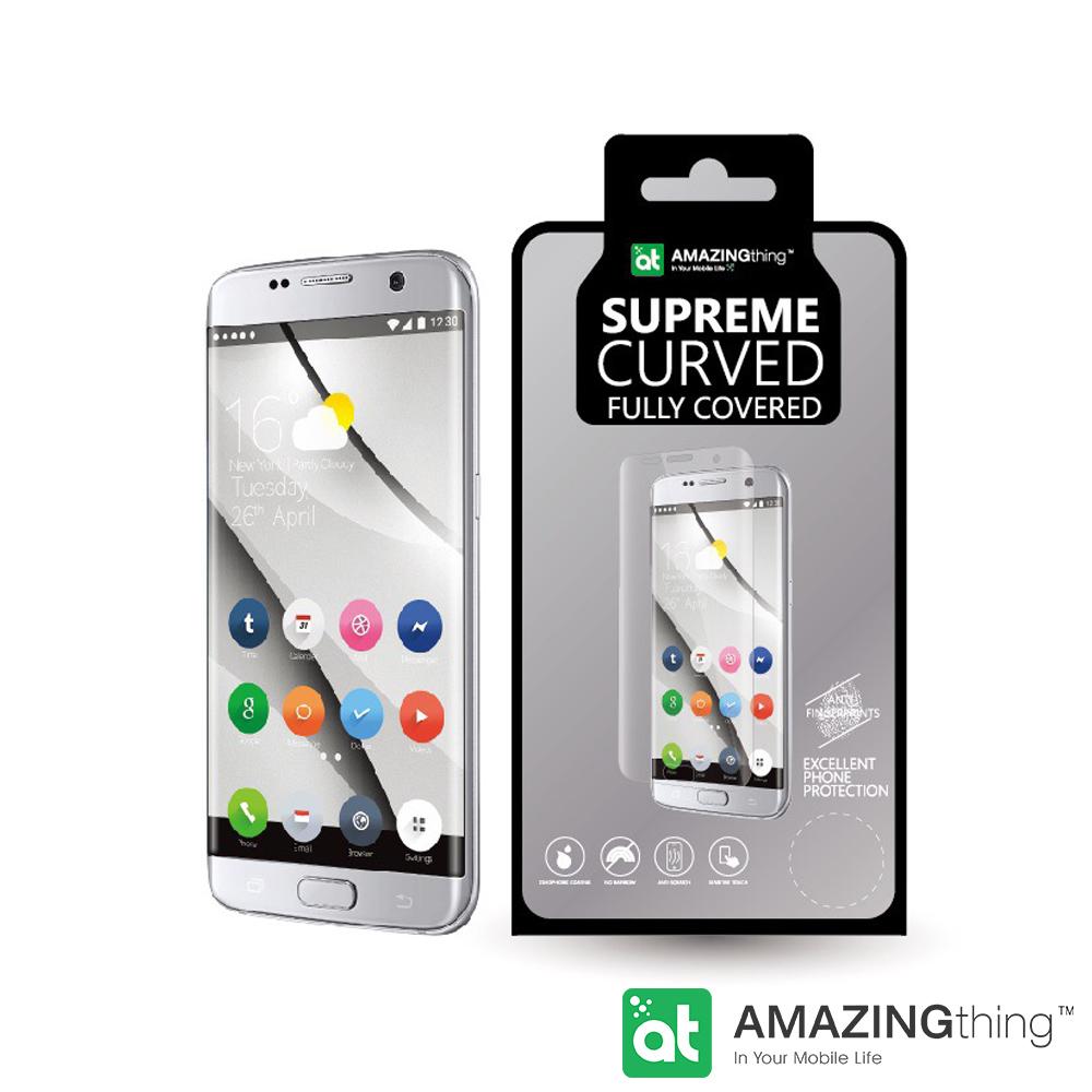 AmazingThing 三星 Galaxy S7 Edge 3D曲面強化玻璃保護貼
