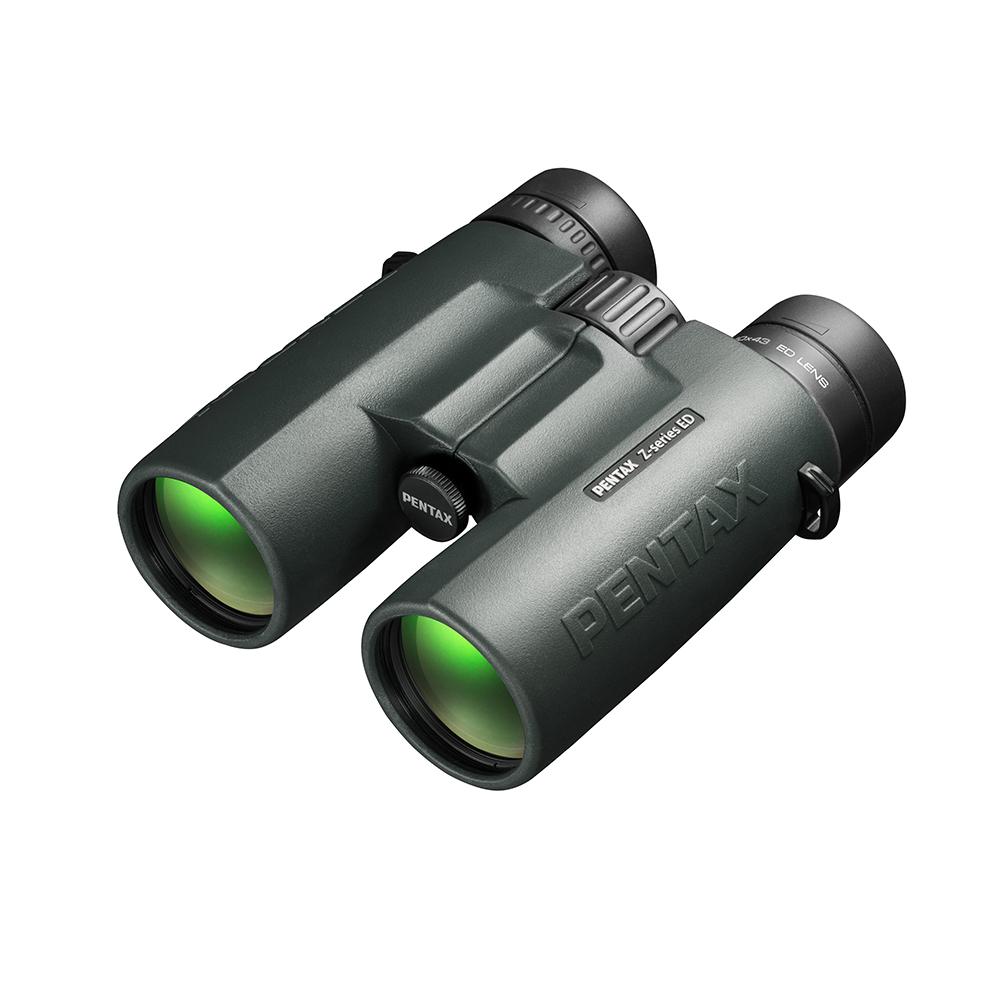 PENTAX ZD 10X43 ED 旗艦級ED鏡片防水望遠鏡(公司貨)~附皮套及背帶