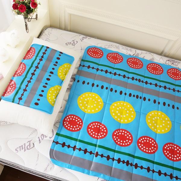 【CoolCold】雙重強效防蚊激涼冷凝床墊-1入-四色可選沁涼西瓜