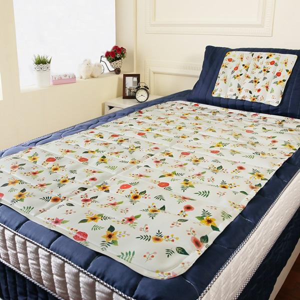 【CoolCold】雙重強效防蚊激涼冷凝床墊-1入-四色可選芳草香氛
