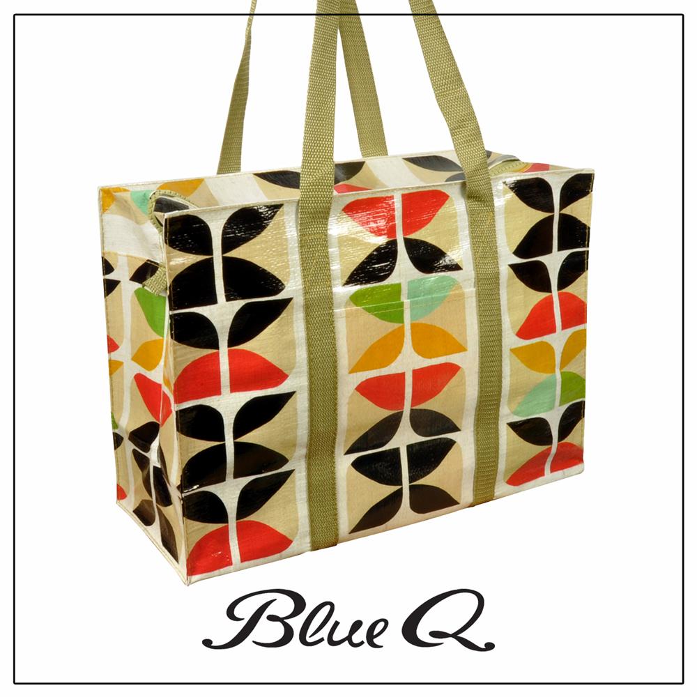 Blue Q 肩背托特包 - Lux 懷舊奢華