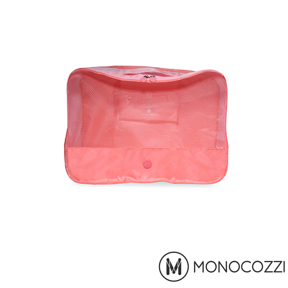 MONOCOZZI Lush Apparel Pack 旅行衣物收納包 (S) - 嫩粉紅