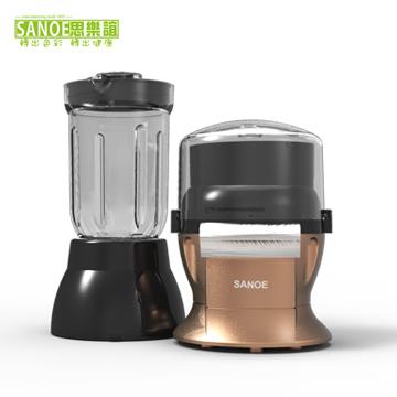 新品上市! 思樂誼 生機食品料理機(二合一) P302 琥珀銅色 食物調理
