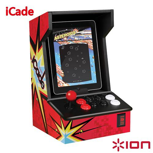 【Ion Audio】復古潮流遊戲機台-icade