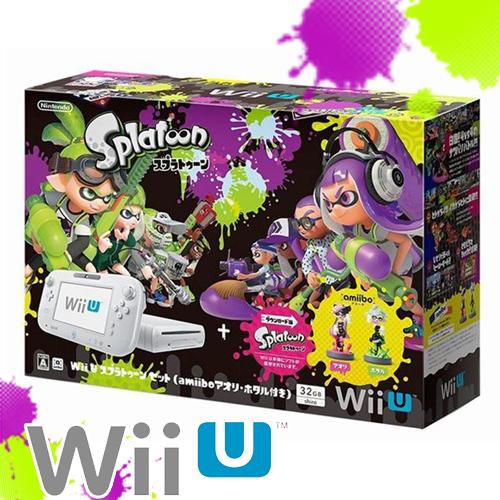 【任天堂】WiiU 漆彈大作戰32GB 同捆機 白色《歡樂超值組》白色