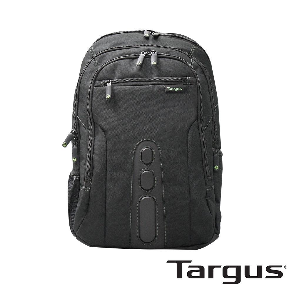 Targus Spruce 綠活環保電腦後背包 (黑色/15.6 吋筆電適用)