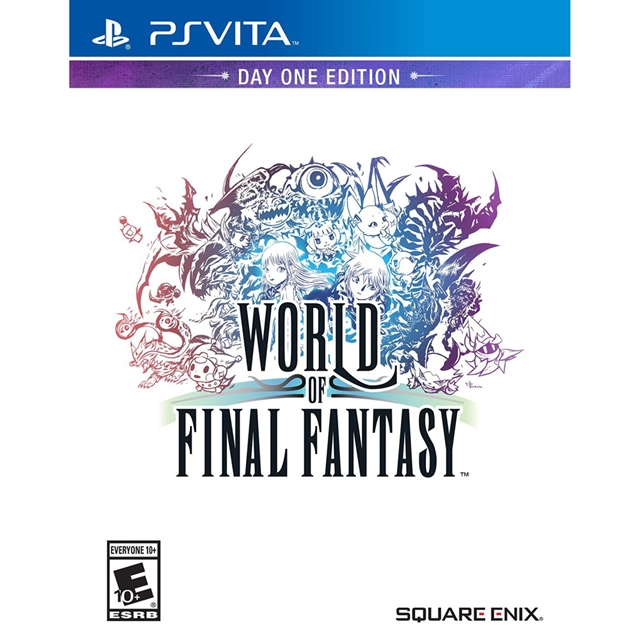 PSV Final Fantasy 世界-中文版