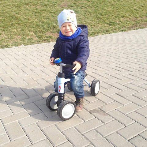 <德國原裝進口PUKY>寶寶滑步車WUTSCH海洋藍