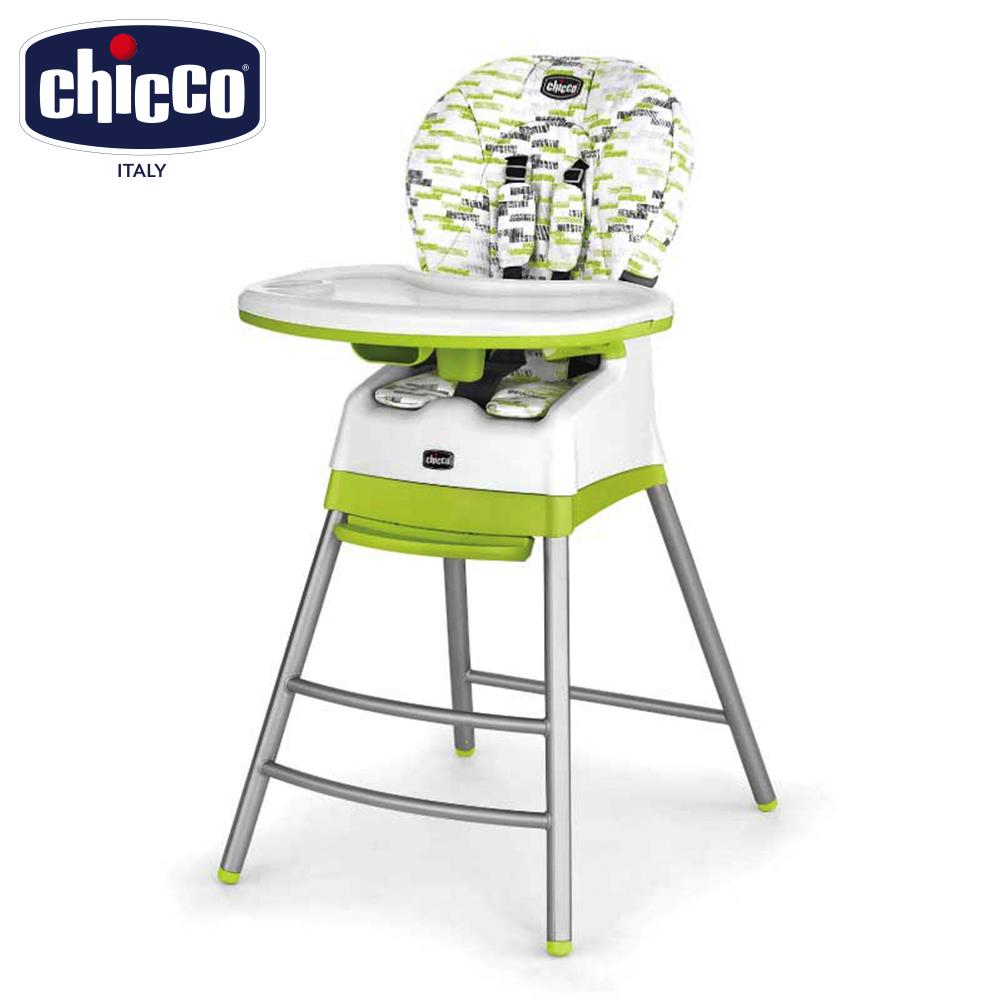 chicco Stack三合一多 成長高腳餐椅-奇異果綠