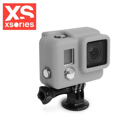 法國XSories SILICONE COVER HD3+ GoPro矽膠保護套灰