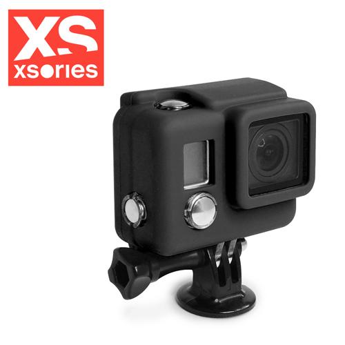 法國XSories SILICONE COVER HD3+ GoPro矽膠保護套黑
