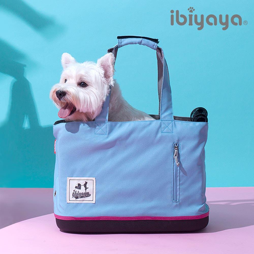 【IBIYAYA依比呀呀】FC1671玩色寵物托特包冰雪藍