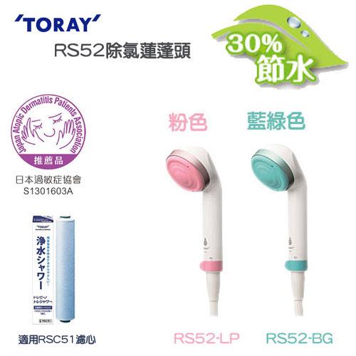 日本東麗TORAY除氯淋浴器 RS52藍綠色