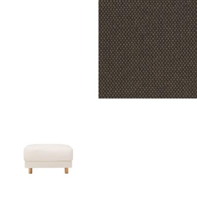 [MUJI 無印良品]棉平織羽毛獨立筒沙發凳套/深棕