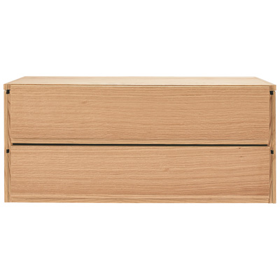[MUJI 無印良品]SUS層架收納箱/橡木抽屜.2段寬84.5×深40×高37cm