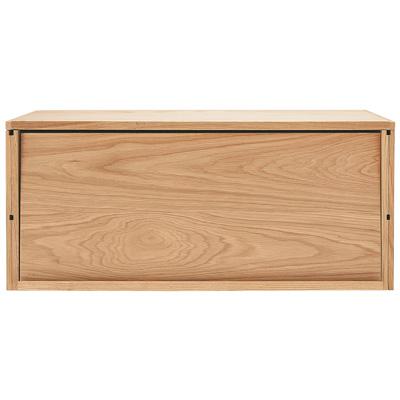 [MUJI 無印良品]SUS層架收納箱/橡木箱.掀蓋式寬84.5×深42×高37cm