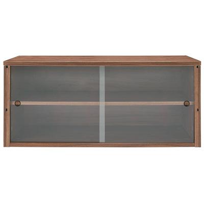 [MUJI 無印良品]SUS層架收納箱/胡桃木箱.玻璃門