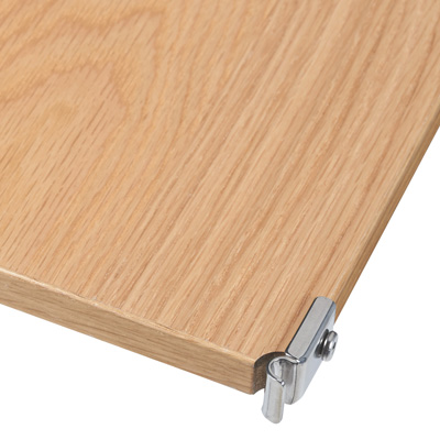 [MUJI 無印良品]SUS追加棚/橡木/84寬84cm用