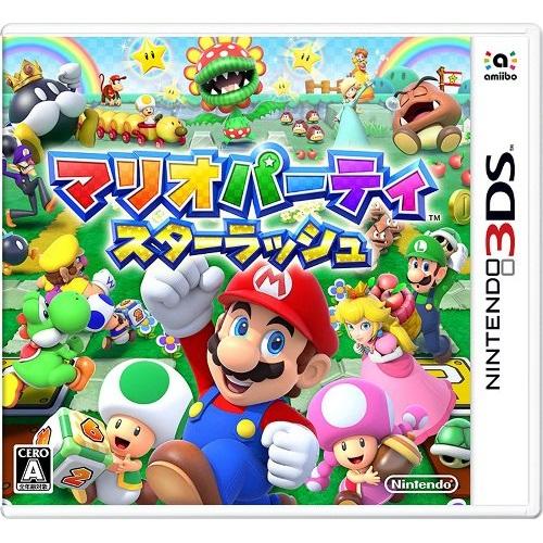 3DS 瑪利歐派對 星星衝刺 (日規主機專用) (日規主機專用)