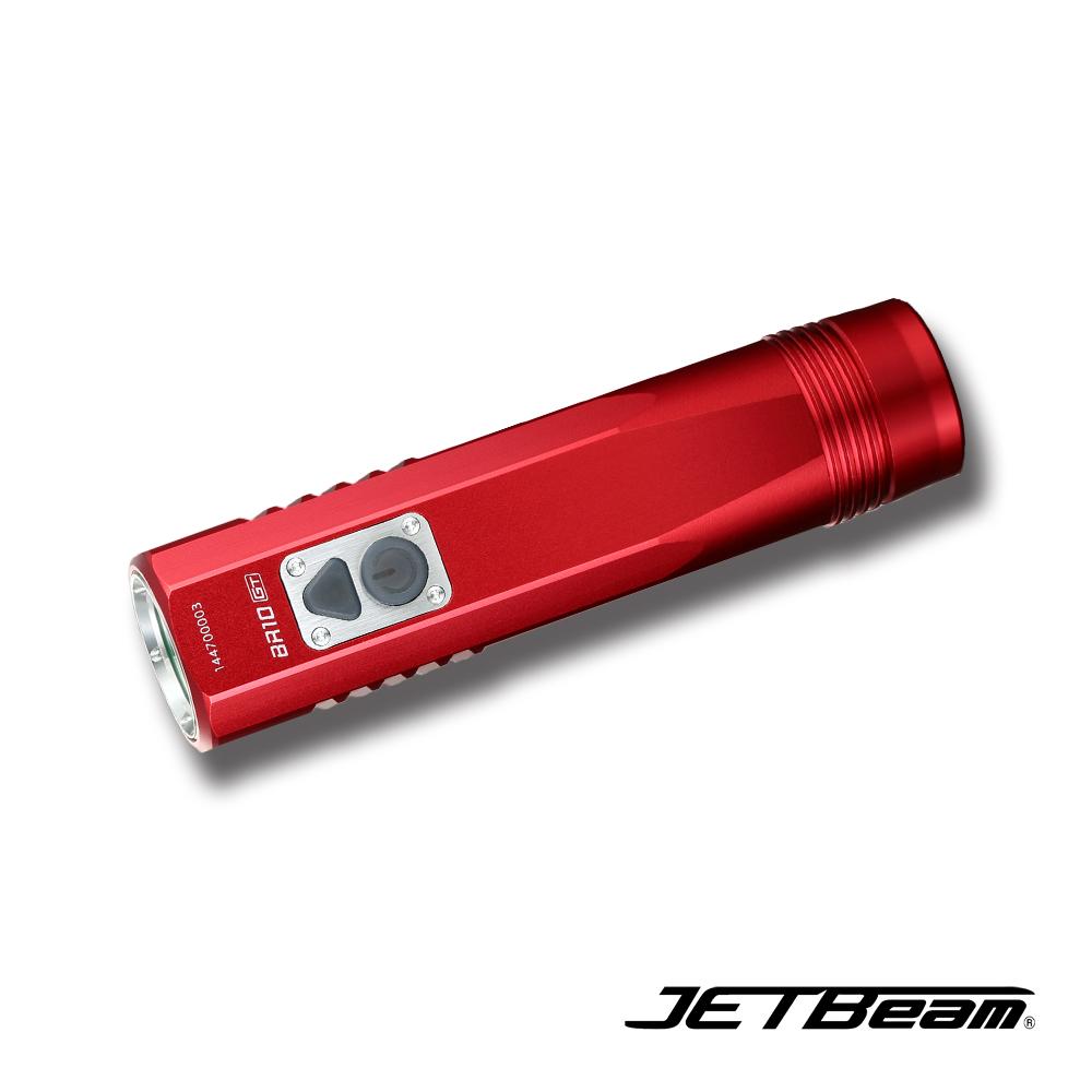 捷特明 JETBeam BR10 GT全能自行車燈/槍燈紅色