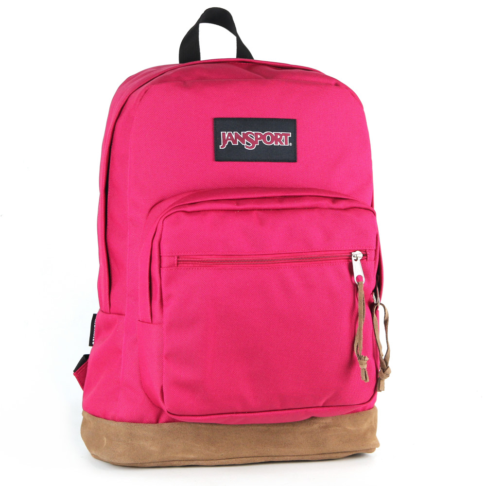 JanSport 校園背包(RIGHT PACK)-櫻桃色